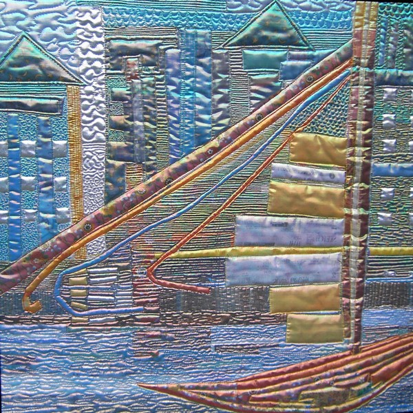 City Harbour textile art